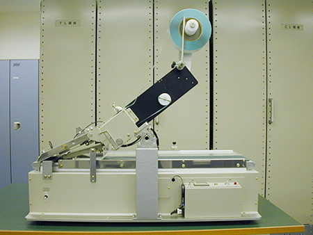 TL-103をベースに、ICタグのラベル貼りに挑戦しました