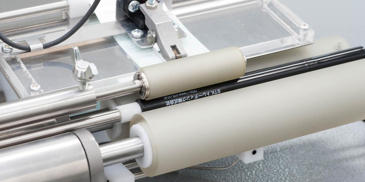 直径8mmのペンシルに、透明ラベルもOK
