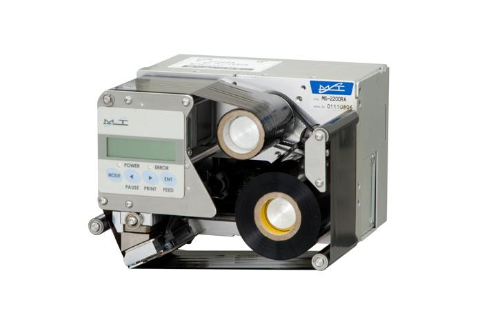 サーマルスタンパーMS-2200はラベル用の小型印字機です